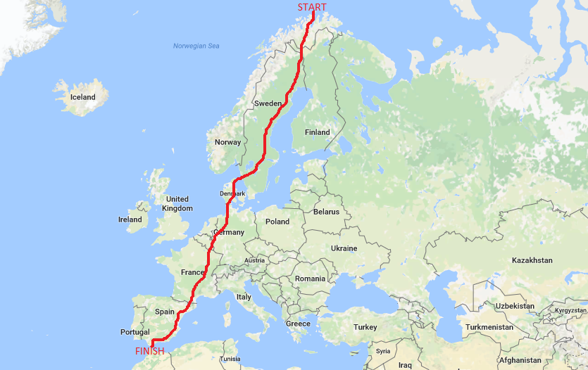 ROUTE finished